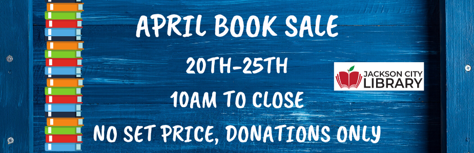 April Book Sale